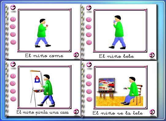 Imágenes Programa Mis primeras frases