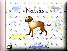El perrito Matías