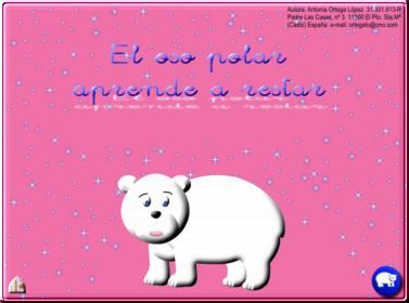 El oso polar aprende a restar