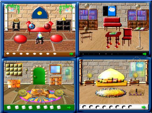 Imágenes del Juego El Palacio de los Colores