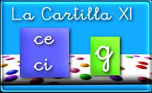 Cuadernillo pdf La Cartilla 11: ce,ci,g