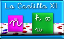 Cuadernillo pdf La Cartilla 12: ñ,k,w,x