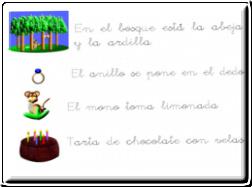 Fichas Lectoescritura II