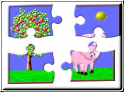 Documento PDF: Piezas de puzzle para recortar