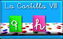 Cuadernillo pdf La Cartilla 8: q y h