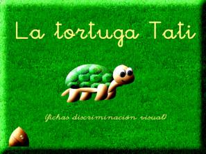 La tortuga Tati: Discriminación visual