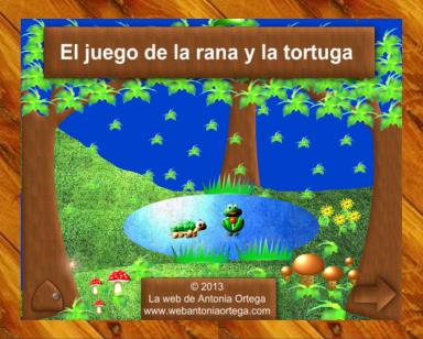 El juego de la rana y la tortuga