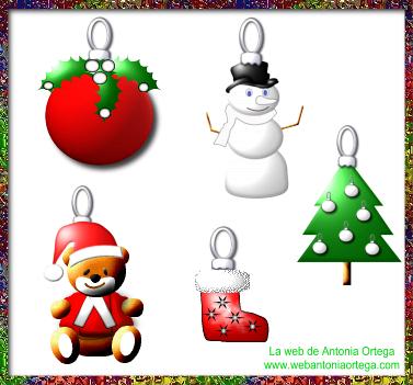 Cuadernillo pdf Adornos de Navidad